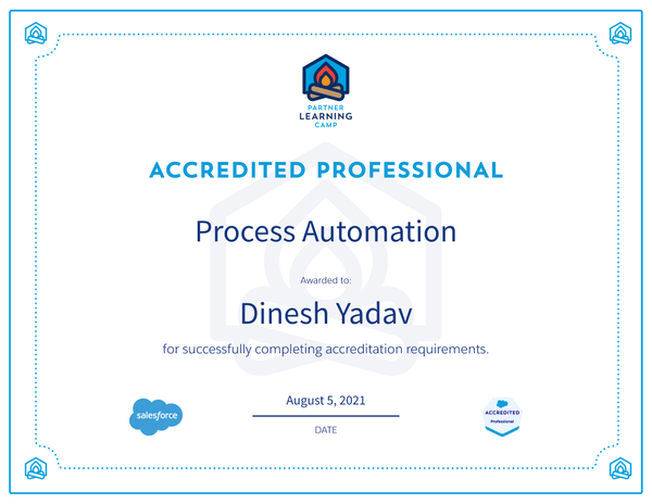 Process Automation Accredited Professional